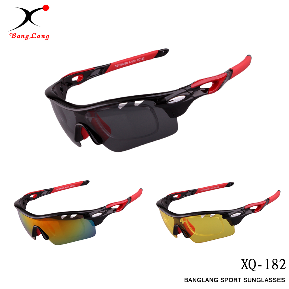 BangLong Outdoor Sports Polarized UV400 Utbytbar 3 objektiv man - Sportkläder och accessoarer