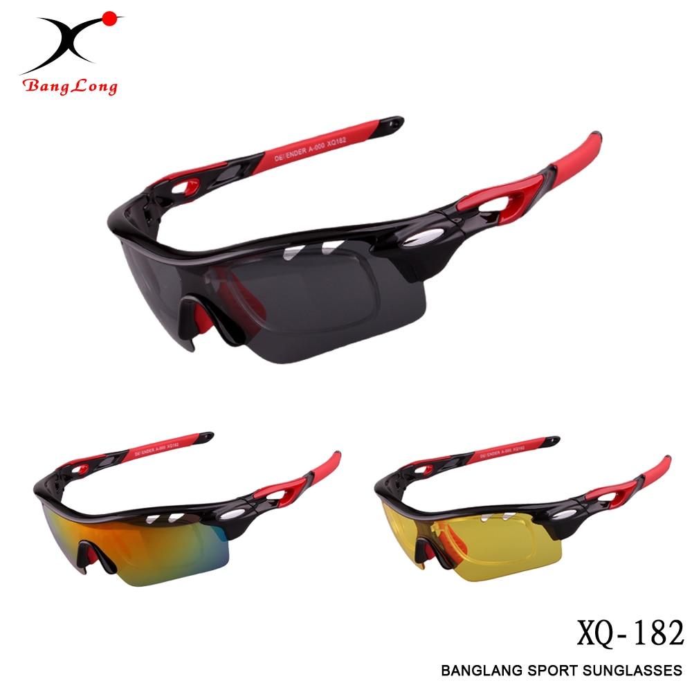 BangLong Outdoor Sports Polarized UV400 Sostituibile 3 lenti uomo - Abbigliamento sportivo e accessori