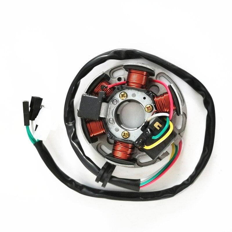 Генератор статор пластина генератор магнитная катушка для Yamaha AM6 KTM Derbi Aprilia Keeway TX HM RS50 RX50 MX50 RS RX MX 50 DT XTM