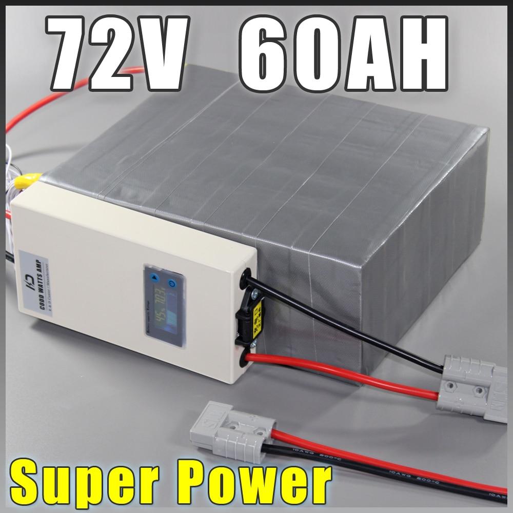 72V 60Ah μπαταρία LiFePO4, ηλεκτρική - Ποδηλασία - Φωτογραφία 1