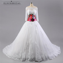 Latest Long Sleeve Wedding Dresses Designer 2017 Vestido De Noiva Com Manga Sheer Lace Embroidery Bridal Gowns Alibaba China