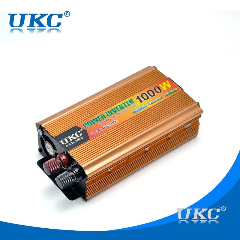 100% Original inverter 48 v 220 v 1000 watt 60Hz wechselrichter universal solar inverter modifizierte sinuswelle mit USB kostenloser versand