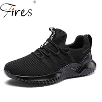 Fires Large Size Running Shoes For Men Soft Light Sport Sneakers Wearable Men's Walking Shoes Athletic Zapatillas Hombre 45 46
