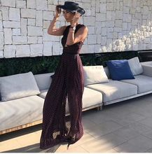 Fashion Holiday Party Sexy Women Dress Dot Hollow Out Backless Slit Strapless One-Shoulder celebrity body con dresses wholesale novelty one shoulder high slit hollow out dress for women
