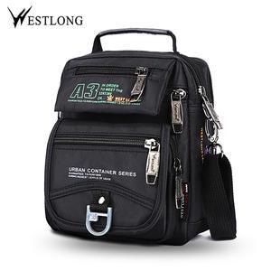 6a916dfb574 WESTLONG Men Messenger Bags Small Shoulder Crossbody Bags