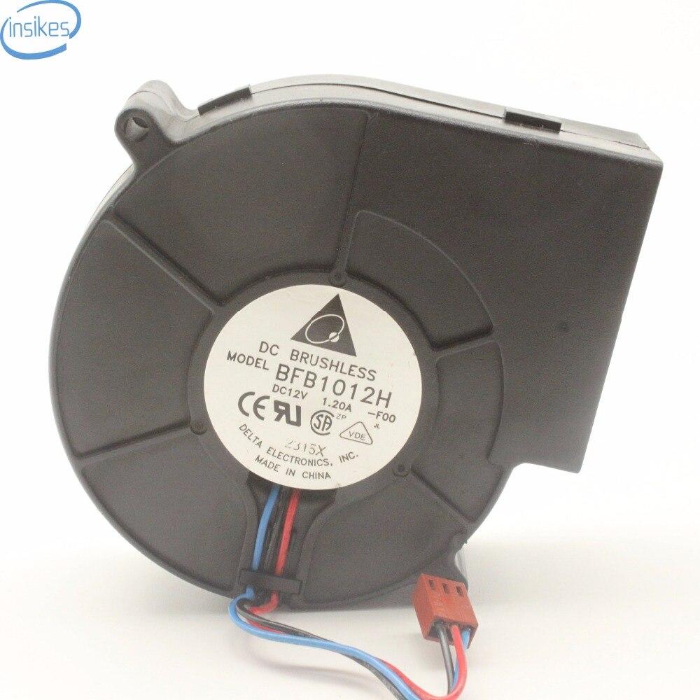 for  SERVO 12V 1.2A 10cm Blower Server Turbofan E1033X12BYAP-26