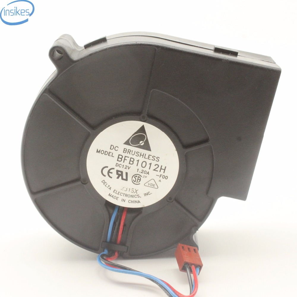 Blower Fan For Delta BFB1012H F00 Brushless Fan DC 12V 1 2A 97 94 33mm BBQ