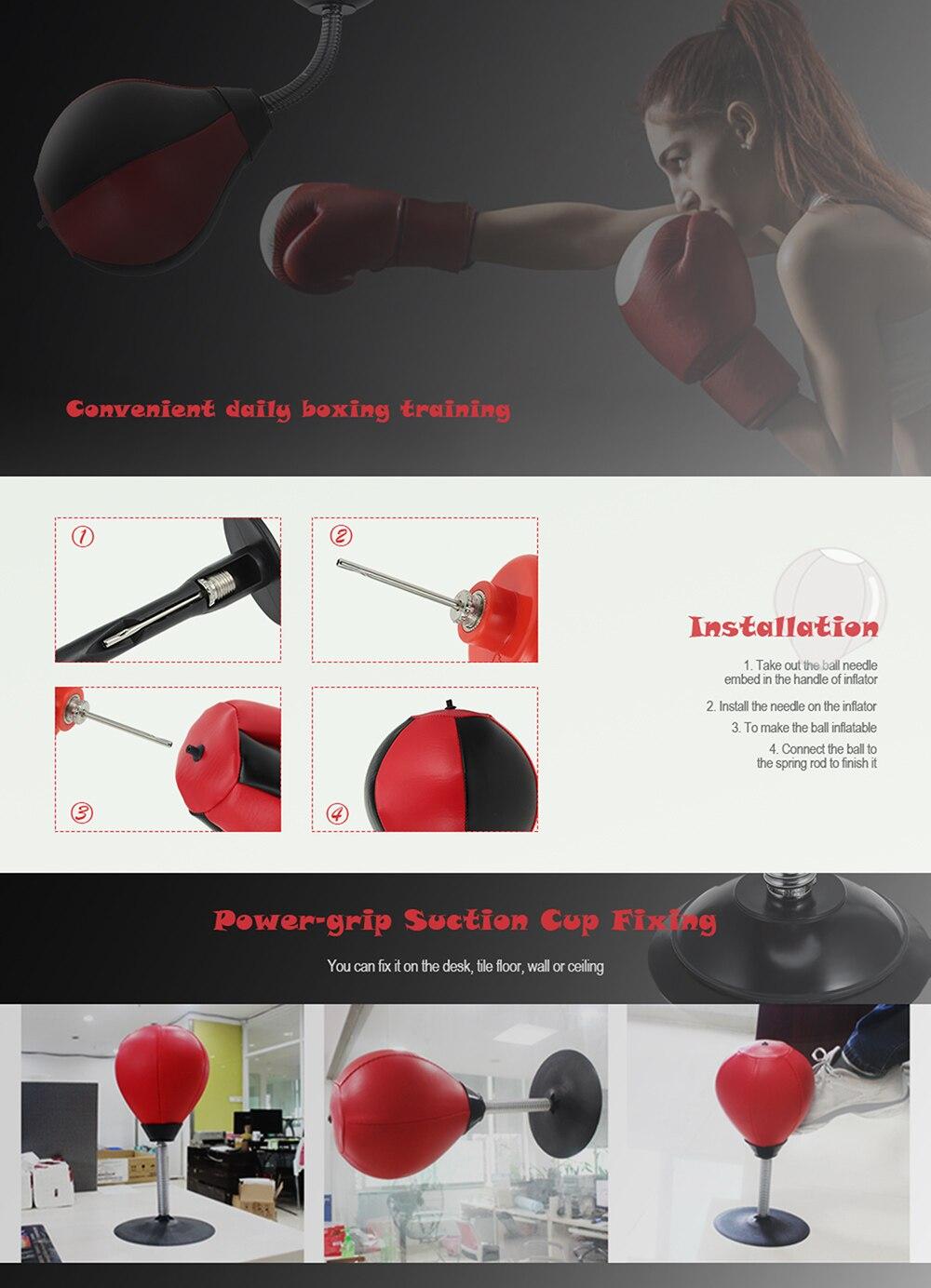 Desktop Punching Bag Stress Relief Boxing Ball 2
