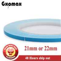 21mm Or 22mm Wide 25 Meters Roll Double Sided Adhesive Thermal Conductive Tape For LED Lighting