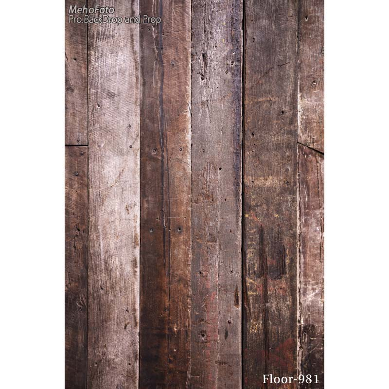 Vinyl brown color wooden wall backdrop newborn children photography Background backdrop for photo studio