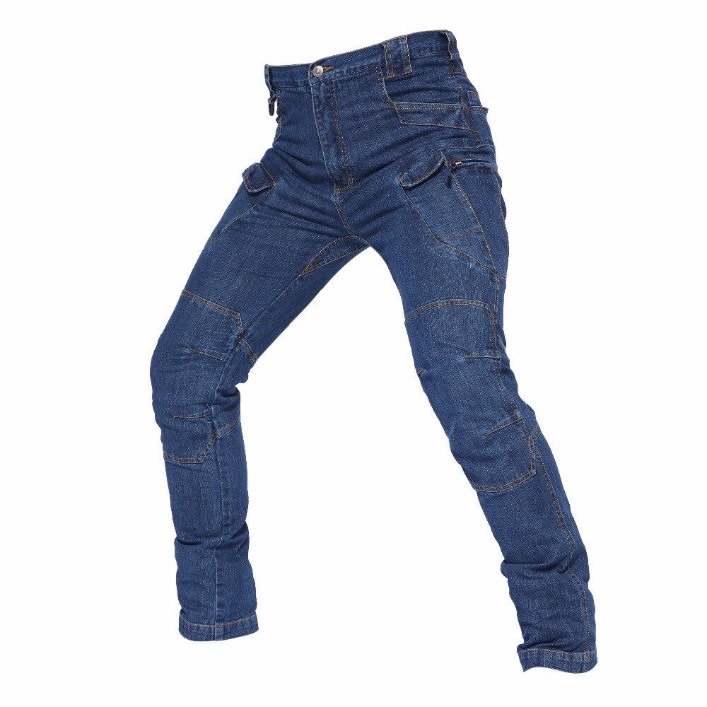 Hommes Tactique pantalon d'entraînement En Plein Air Jeans Camping Randonnée Escalade Chasse Trekking résistant à l'usure Respirant Mâle Pantalons Longs