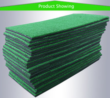 100% Best Backyard Golf Practice mat 60x30cm Training Hitting Pad Personal Practice golf mat ball pad Grass Indoor Grass Mat