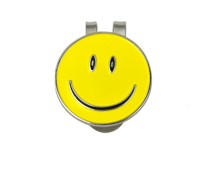Mounchain Delicate Smiling Face Golf Ball Trainner For Golf Hat Clip Sets