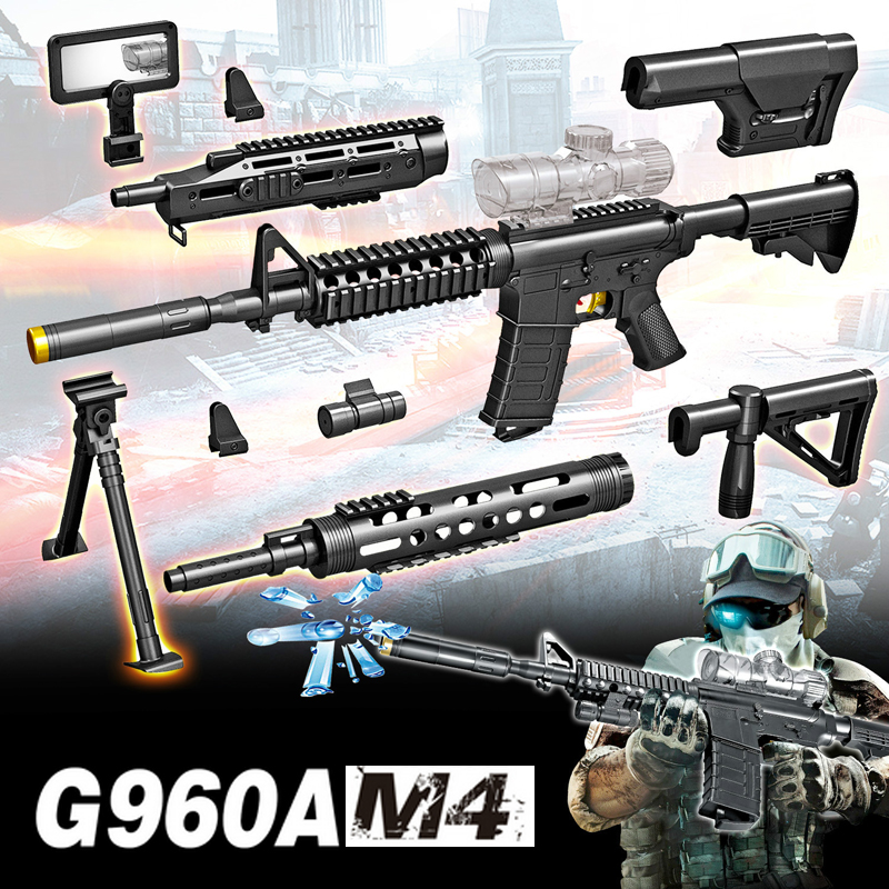 Jouet électrique pistolet eau balle éclate pistolet en direct CS assaut Snipe arme en plein air pistolet bricolage jouets pistolets