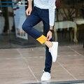 Зима мужской плюс бархат случайные брюки мужские прямые свободные брюки плюс размер случайные штаны мужчины марка одежды высокого качества хлопка