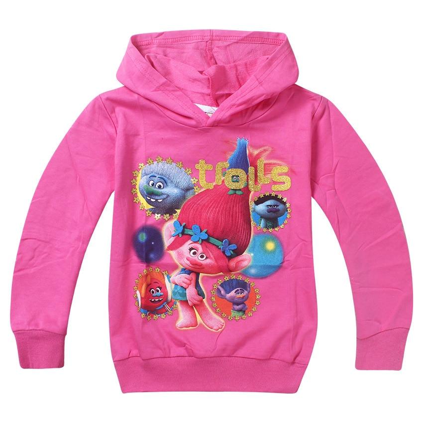 1a967898defa Trolls poppy magic Costumes Kids Good Luck christmas tops Tees Moana ...