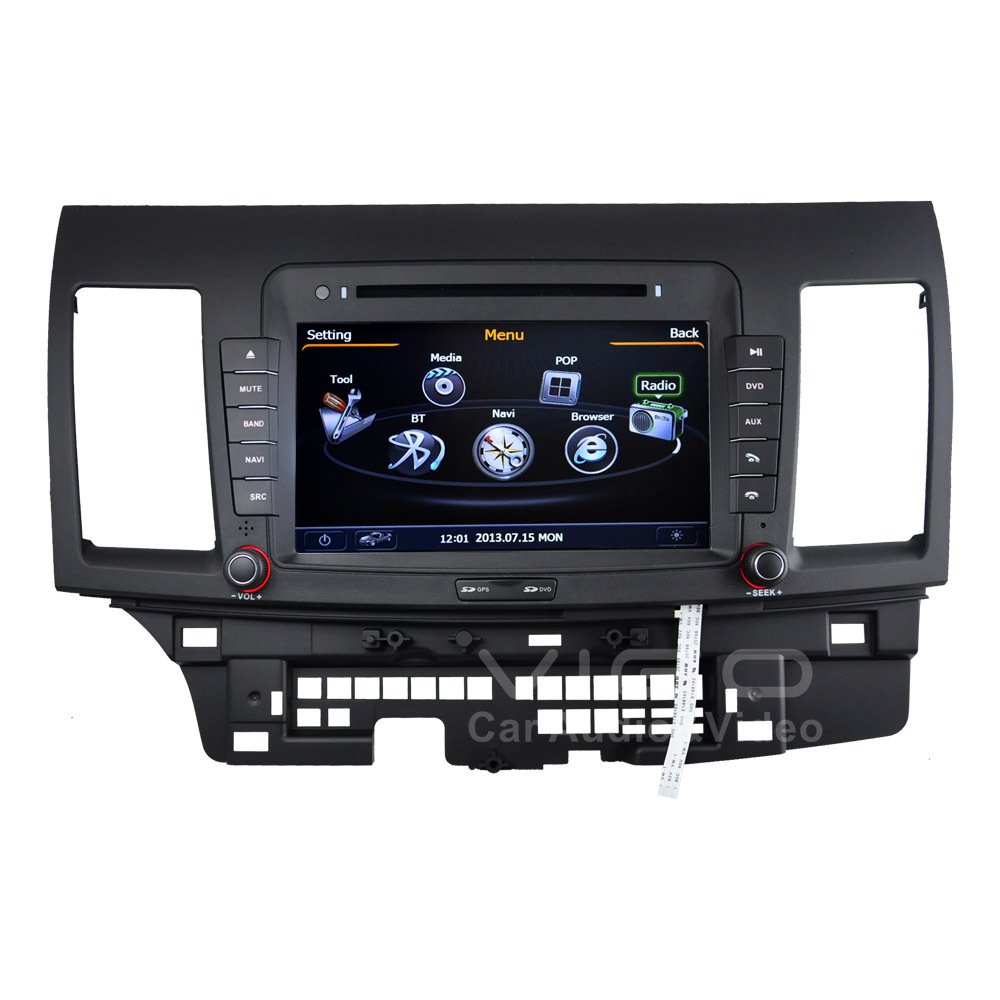 Car Stereo GPS Navigation for Mitsubishi Lancer Radio RDS