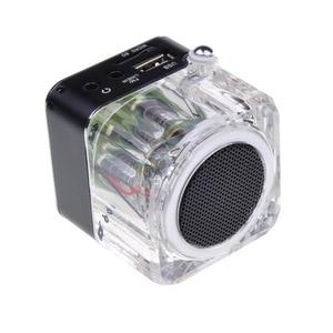 Image 4 - Receptor de Radio FM portátil, minialtavoz estéreo de sonido LCD Digital, microSD/TF, música para teléfono móvil, MP3, PK TDV26