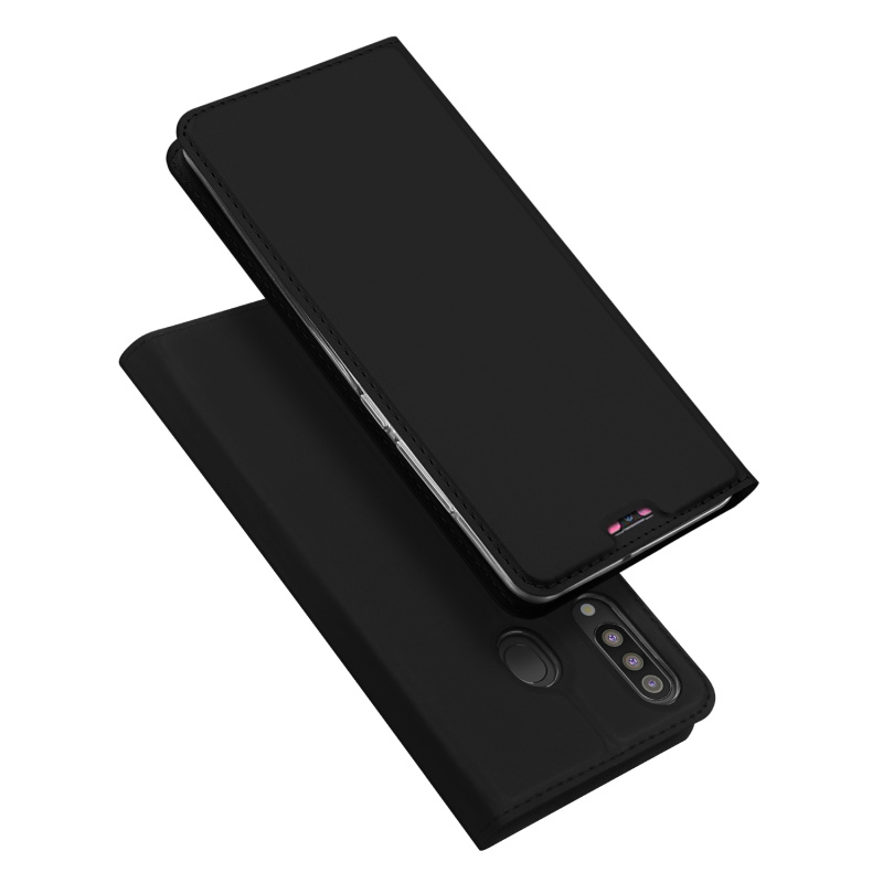 Original Dux Ducis Pu Leather Case For Samsung Galaxy M30 Coque Luxury Thin Flip Wallet Case Cover For Samsung M30 Phone Cases in Flip Cases from Cellphones Telecommunications