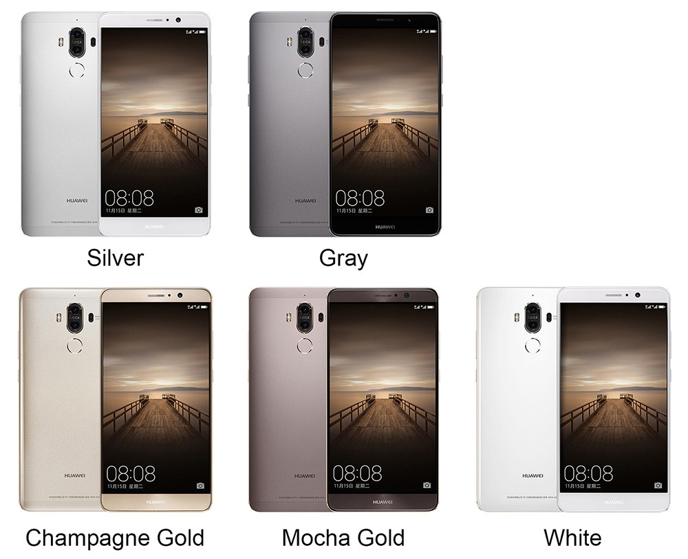 "Global ROM huawei Коврики 9 4G/6 г ОЗУ 32 ГБ/6 4G/128G ROM 5,9 ""Android 7,0 мобильный телефон KIRIN 960 Octa core 2 задние камеры 20.0MP"