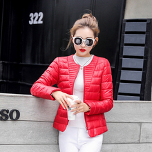 Fashion Ultralight Parka Winter Jacket Women Unique Style