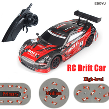 EBOYU RC18 RC Car Super GT RC Sport Racing Drift Car 1:16 Remote Control Module 4WD RTR Car with Extra Drift Tires Gift