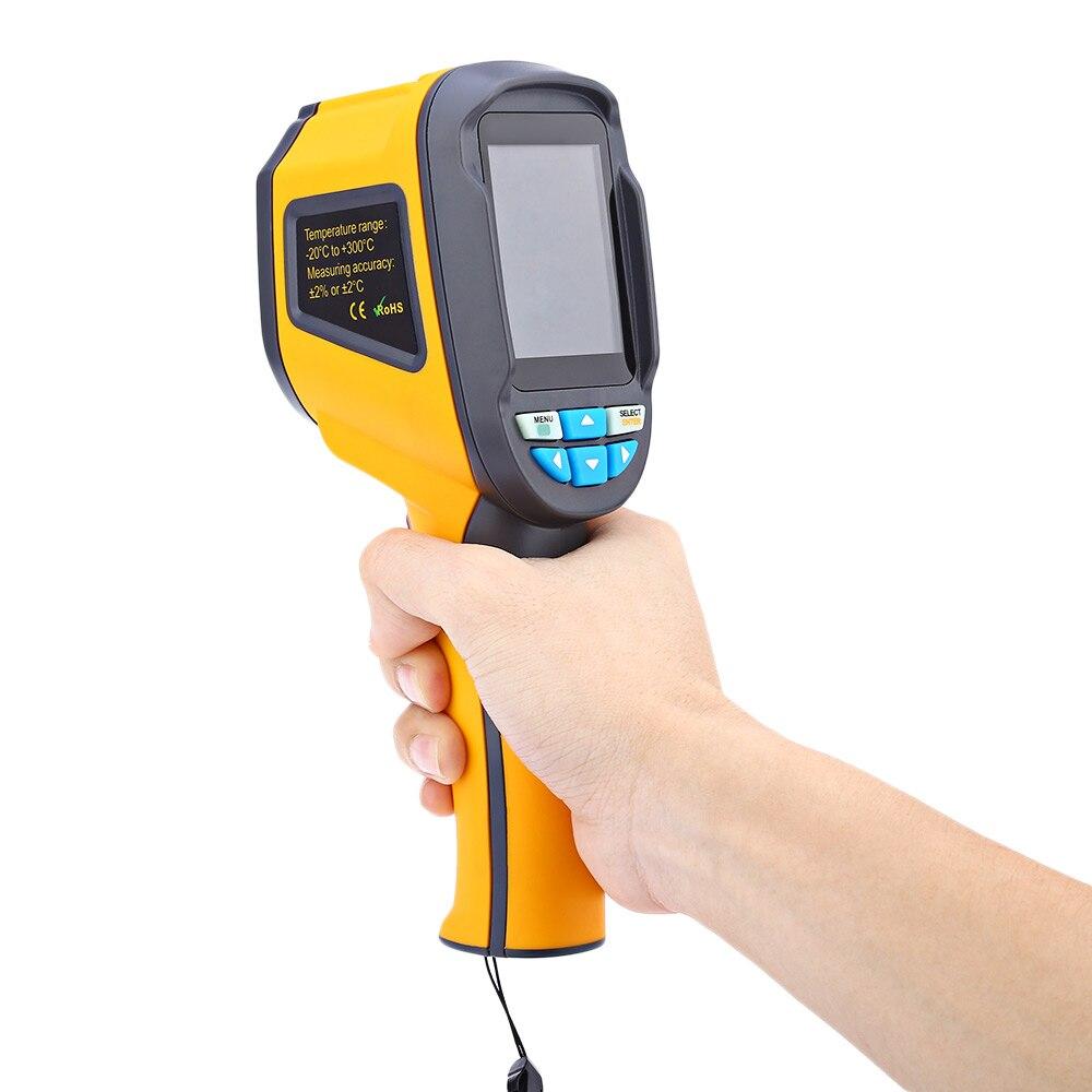 HT 02D Handheld Thermal Imaging Camera Infrared Thermometer IR Thermal Imager thermometre infrarouge termometro infravermelho