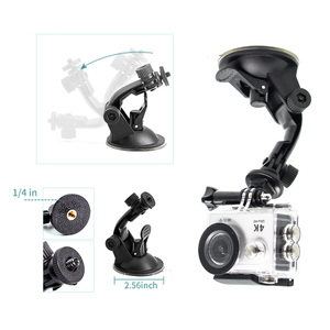 Image 2 - Juego de accesorios para cámara Gopro hero 7, accesorios para cámara Gopro hero 7, kit de 3 vías de palo selfie para Eken h9r H8R/xiaomi yi EVA