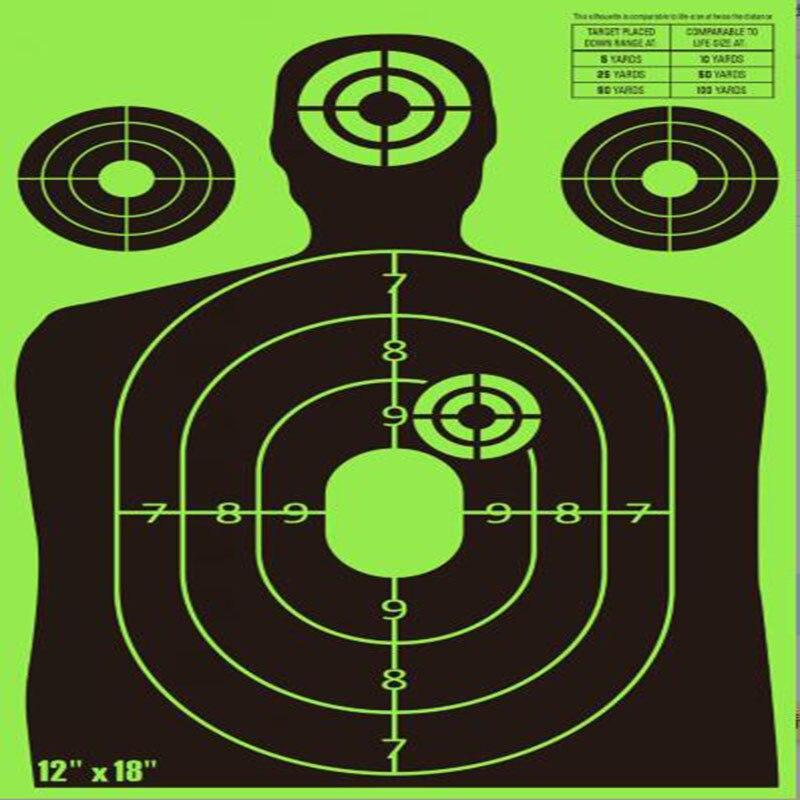 Silhouette splatter shooting Targets zombie shooting targets For Shooting splatter effect with 200 Free Repair Stickers
