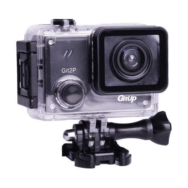 GitUP Git2P 90 Gradi Lens Macchina Fotografica di Azione di 2K Wifi Sport DV Full HD 1080P 30m Impermeabile mini videocamera da 1.5 pollici Novatek 96660