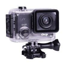 Gitup Git2P 90 度レンズアクションカメラ 2 無線lanスポーツのdvフルhd 1080p 30 メートル防水ミニビデオカメラ 1.5 インチnovatek 96660