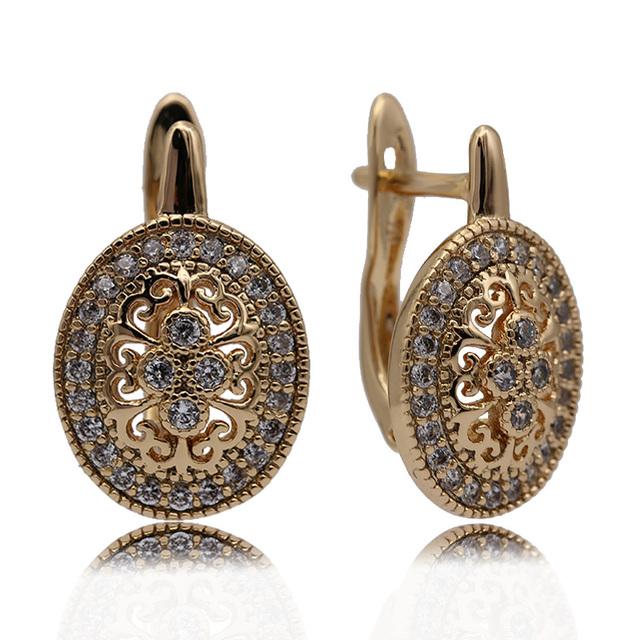 Hollow Drop Earrings.
