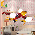 Led Pendant light children's room Iron air-fighter modern pendant light Cartoon Creative lamp
