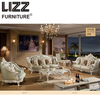 Chesterfield Sofa Royal Furniture Set Living Room Antique Style Sofa Loveseat Armchair Furniture For Home Luxury Sofa Set Chair