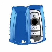 Caso Chave Do Carro Para BMW F30 F20 Peacekey X1 X3 X5 X6 X7 F20 E34 E36 E90 E60 Smart-2/3 botão Reequipamento chave pacote Tampa Da Chave Shell