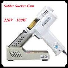 Electric Vacuum Desoldering Pump Solder Sucker Gun 110V/220V De-solder Gun Electric Soldering Irons S-993A