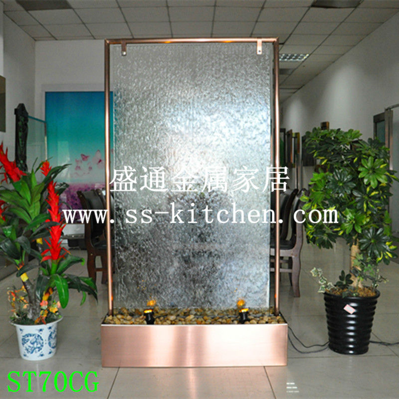 European Water Fountain/fengshui Wheel Decoration/separating Screen Entryway/house Decoration Wall /rockery Waterscape