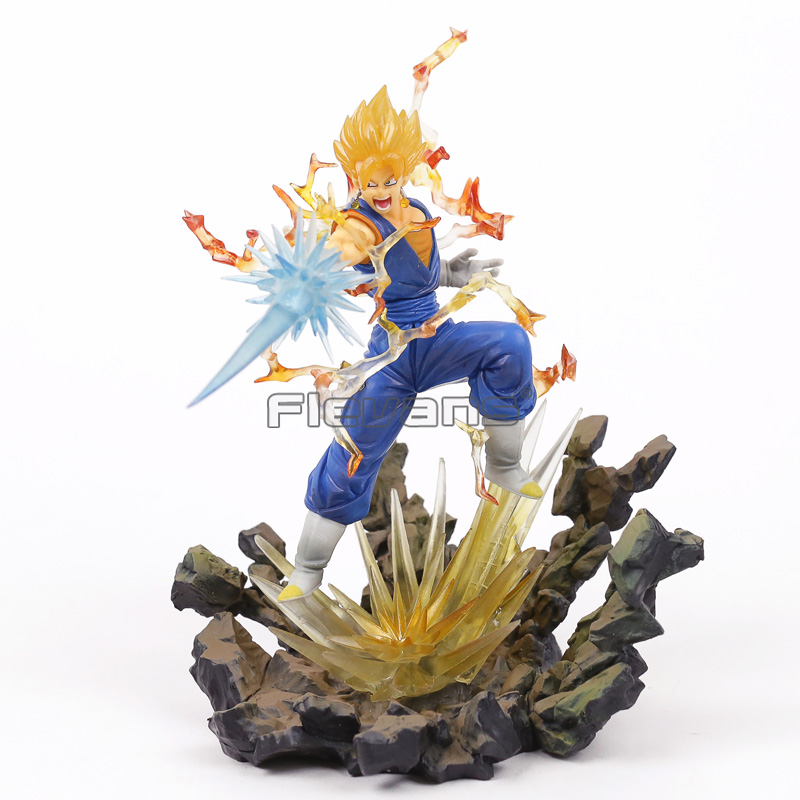 Dragon Ball Z Figuarts Zero Super Saiyan Vegetto PVC Figure Collectible Model Toy dragon ball dxf the super warriors vol 3 super saiyan rose gokou black and vegetto pvc figure collectible model toys kt4201