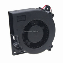 2 Pieces Gdstime Computer 120mm x 32mm 5V 2Pin Ball Bearing Brushless DC Cooling Exhaust Blower Fan