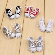 Chaussures en tissu de poupée Blyth avec cinq couleurs différentes pour un corps 1/6