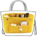 Сумка из фетровой ткани Obag  женская сумка с несколькими карманами  органайзер для косметики  аксессуары для багажа