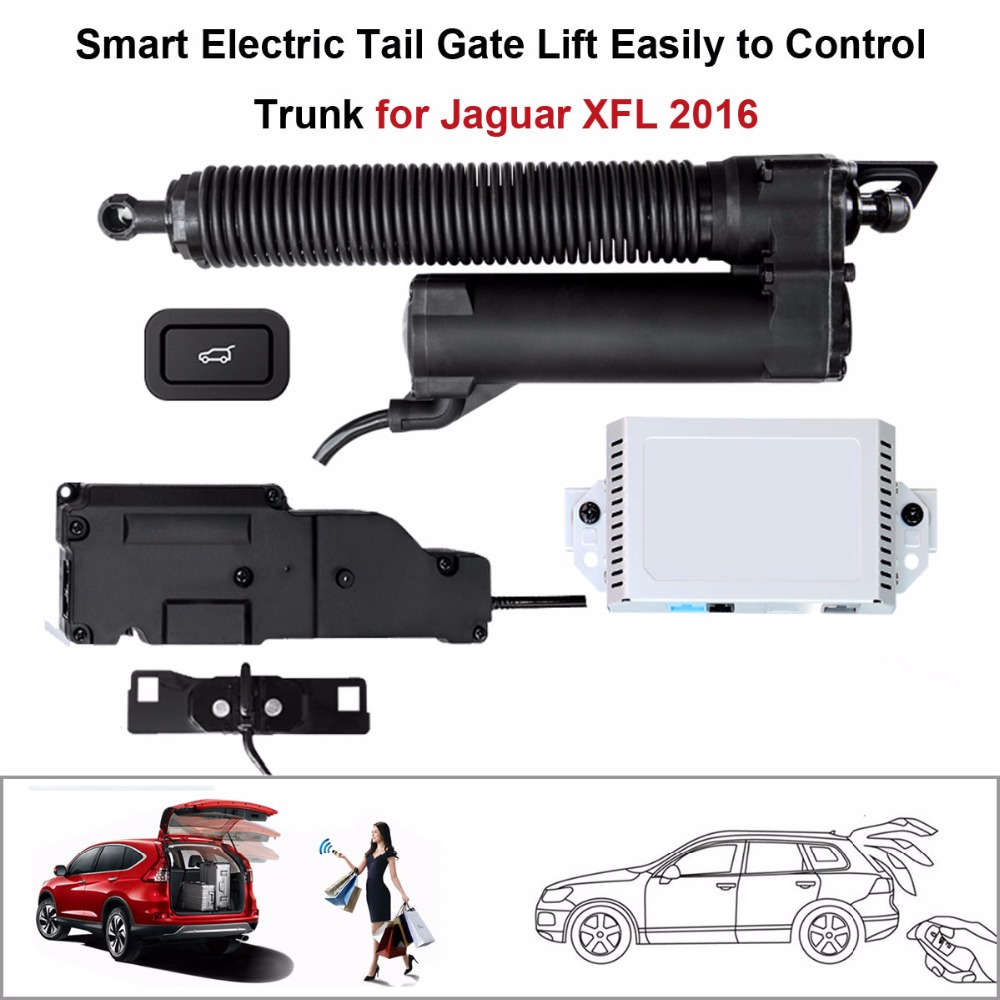 Smart Auto Electric Tail Gate Lift For Jaguar XFL 2016 Control Set Height Avoid Pinch With Latch