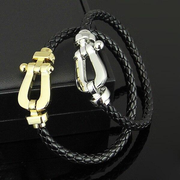 meilleur service 31dd7 aec70 Silver /gold Buckle bracelet Fred Stainless Steel Ferrule ...