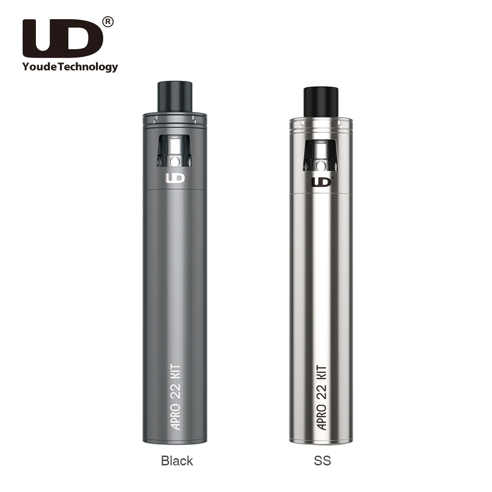Original UD Apro 22 Starter Kit Built-in 2500mAh Battery & 2ml Tank Capacity All-in-one Style Vape Pen Kit Vs Ego Aio / Ijust S new casual baby girl clothes baby girl clothing set short sleeve t shirt pants 2pcs suits
