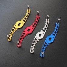 reel rocker DIY wheel handle aeronautical aluminum 5mm*8mm 1pcs/lot free shipping 4colors