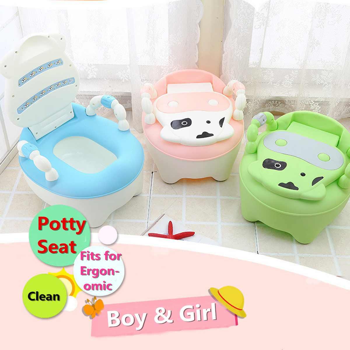 Portable bébé toilette pot mignon dessin animé bébé toilette voiture enfants pot enfant pot chaise formation filles garçon enfants toilette siège