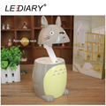 LEDIARY Totoro LED Desk Lamp Weak/Strong Light USB Rechargeable Fold Flexible Table/Reading/Book Light for Student Chinchilla