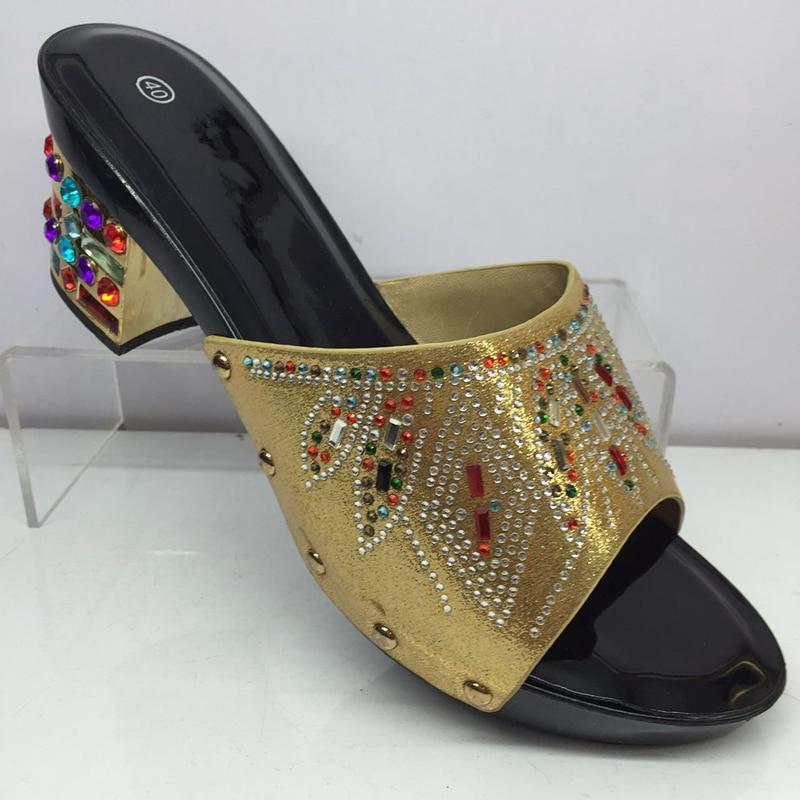 Italian Designer Shoes Women Slip On Summer Sandals with