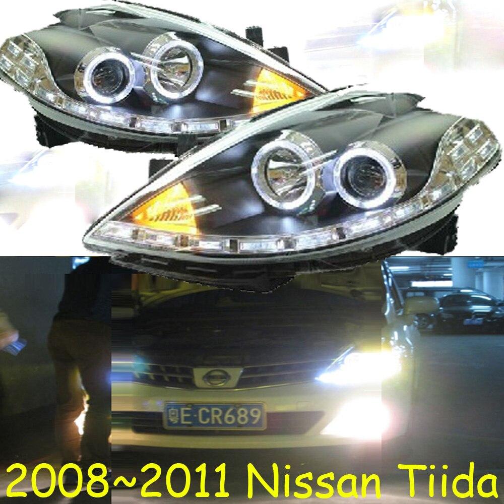 HID,2008~2011/2012~2015,Car Styling,Tiida Headlight,Micra,Titan,versa,stanza,sentra,Tsuru,stagea,Rogue;Tiida head lamp