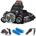 3T6 8000Lm 4-Modes CREE XML 3* T6 LED Headlight Headlamp Lamp Light Torch Camping Fishing Flashlight Hunting